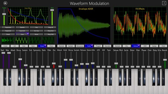The Music Telegraph] Modulated Waveform of Synthesizer (1)